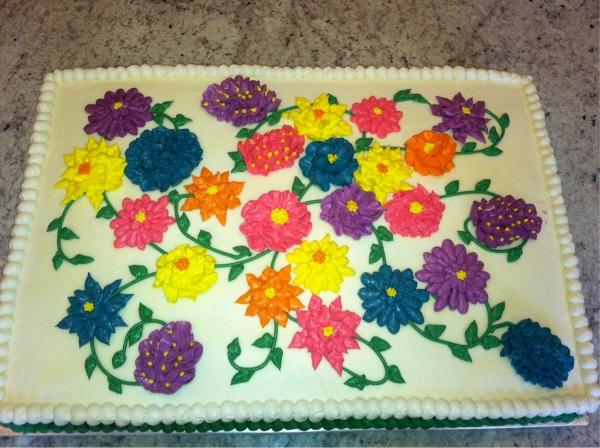 Cake Garden Decorations